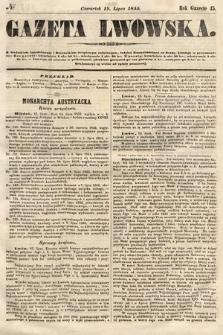 Gazeta Lwowska. 1855, nr164