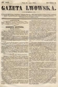 Gazeta Lwowska. 1855, nr165