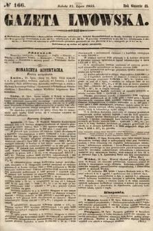 Gazeta Lwowska. 1855, nr166