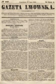 Gazeta Lwowska. 1855, nr167