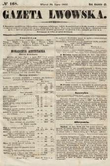 Gazeta Lwowska. 1855, nr168