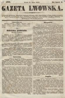 Gazeta Lwowska. 1855, nr169