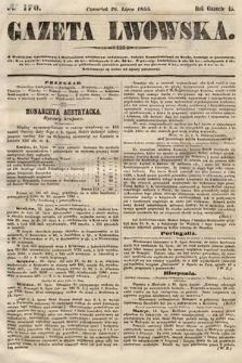 Gazeta Lwowska. 1855, nr170