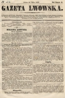 Gazeta Lwowska. 1855, nr172