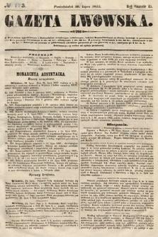 Gazeta Lwowska. 1855, nr173
