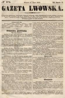 Gazeta Lwowska. 1855, nr174