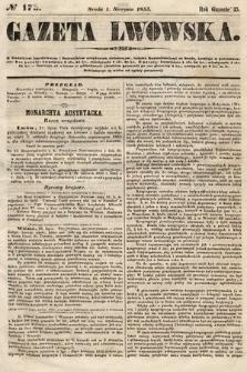 Gazeta Lwowska. 1855, nr175