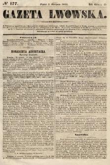 Gazeta Lwowska. 1855, nr177
