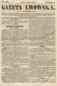 Gazeta Lwowska. 1855, nr178