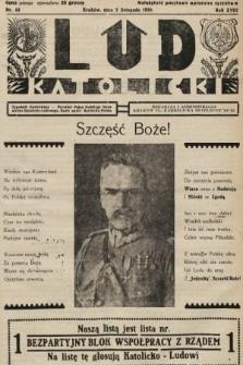 Lud Katolicki : tygodnik ilustrowany : naczelny ogran Polskiego Stronnictwa Katolicko-Ludowego. 1930, nr44