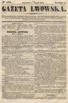 Gazeta Lwowska. 1855, nr179
