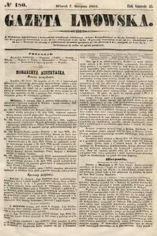 Gazeta Lwowska. 1855, nr180