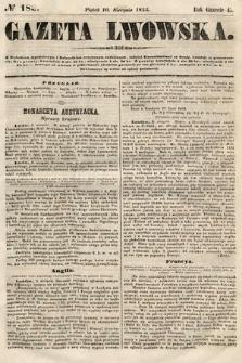Gazeta Lwowska. 1855, nr183
