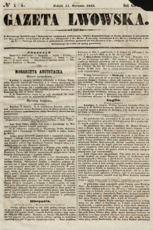 Gazeta Lwowska. 1855, nr184