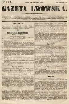 Gazeta Lwowska. 1855, nr194