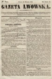 Gazeta Lwowska. 1855, nr197