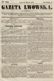 Gazeta Lwowska. 1855, nr198