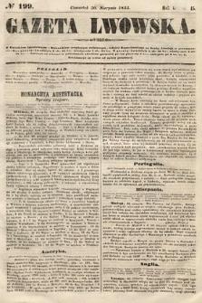 Gazeta Lwowska. 1855, nr199