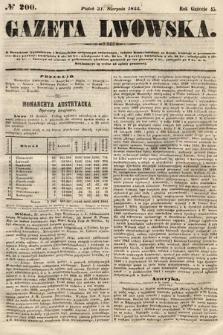 Gazeta Lwowska. 1855, nr200