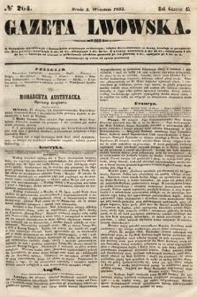Gazeta Lwowska. 1855, nr204