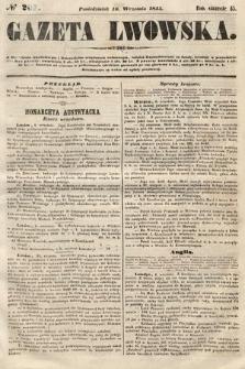 Gazeta Lwowska. 1855, nr207