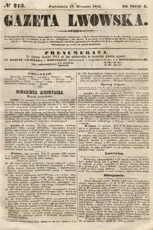 Gazeta Lwowska. 1855, nr213