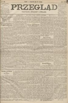 Przegląd polityczny, społeczny i literacki. 1898, nr44