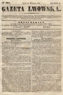 Gazeta Lwowska. 1855, nr221
