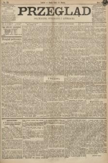 Przegląd polityczny, społeczny i literacki. 1898, nr72