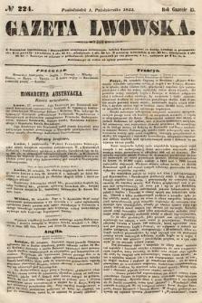 Gazeta Lwowska. 1855, nr224