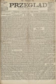 Przegląd polityczny, społeczny i literacki. 1898, nr99