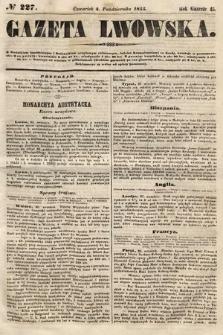 Gazeta Lwowska. 1855, nr227