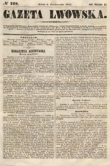 Gazeta Lwowska. 1855, nr229