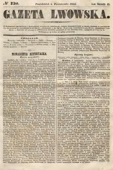 Gazeta Lwowska. 1855, nr230