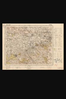 Mapa taktyczna Polski : pas 40 : słup 31 : Żyrardów