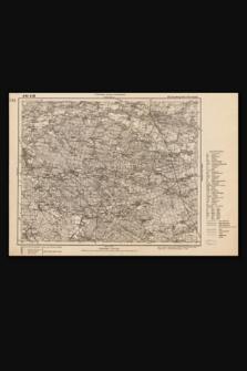 Mapa taktyczna Polski : pas 45, słup 26 : Kreuzburg (Kluczbork)