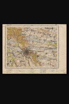 Mapa taktyczna Polski : pas 49, słup 38 : Lwów
