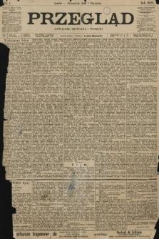Przegląd polityczny, społeczny i literacki. 1903, nr1