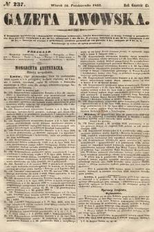 Gazeta Lwowska. 1855, nr237