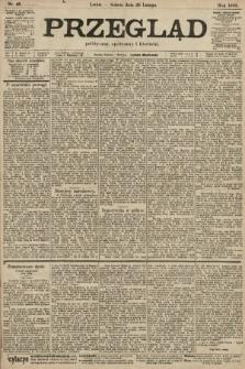Przegląd polityczny, społeczny i literacki. 1903, nr48