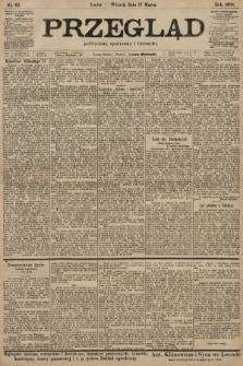 Przegląd polityczny, społeczny i literacki. 1903, nr62