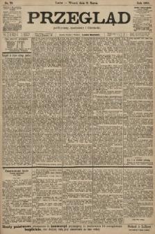 Przegląd polityczny, społeczny i literacki. 1903, nr73