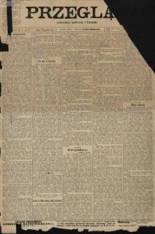 Przegląd polityczny, społeczny i literacki. 1903, nr147