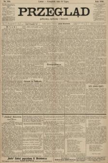 Przegląd polityczny, społeczny i literacki. 1903, nr160