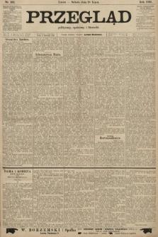 Przegląd polityczny, społeczny i literacki. 1903, nr162