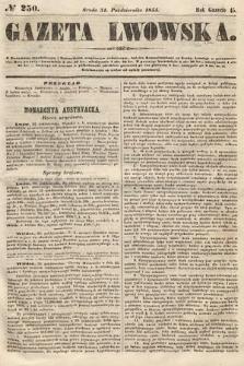 Gazeta Lwowska. 1855, nr250