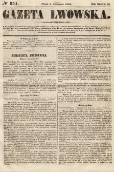 Gazeta Lwowska. 1855, nr251