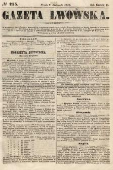 Gazeta Lwowska. 1855, nr255