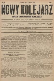 Nowy Kolejarz : organ galicyjskich kolejarzy. 1907, nr 5