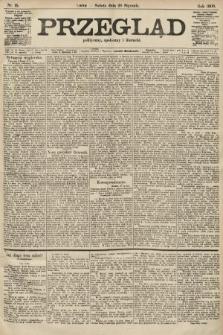 Przegląd polityczny, społeczny i literacki. 1906, nr15